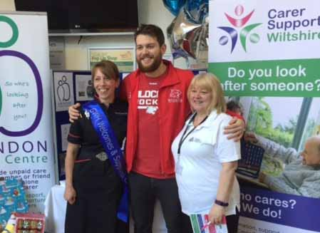 Sam supports Carers Rights Day