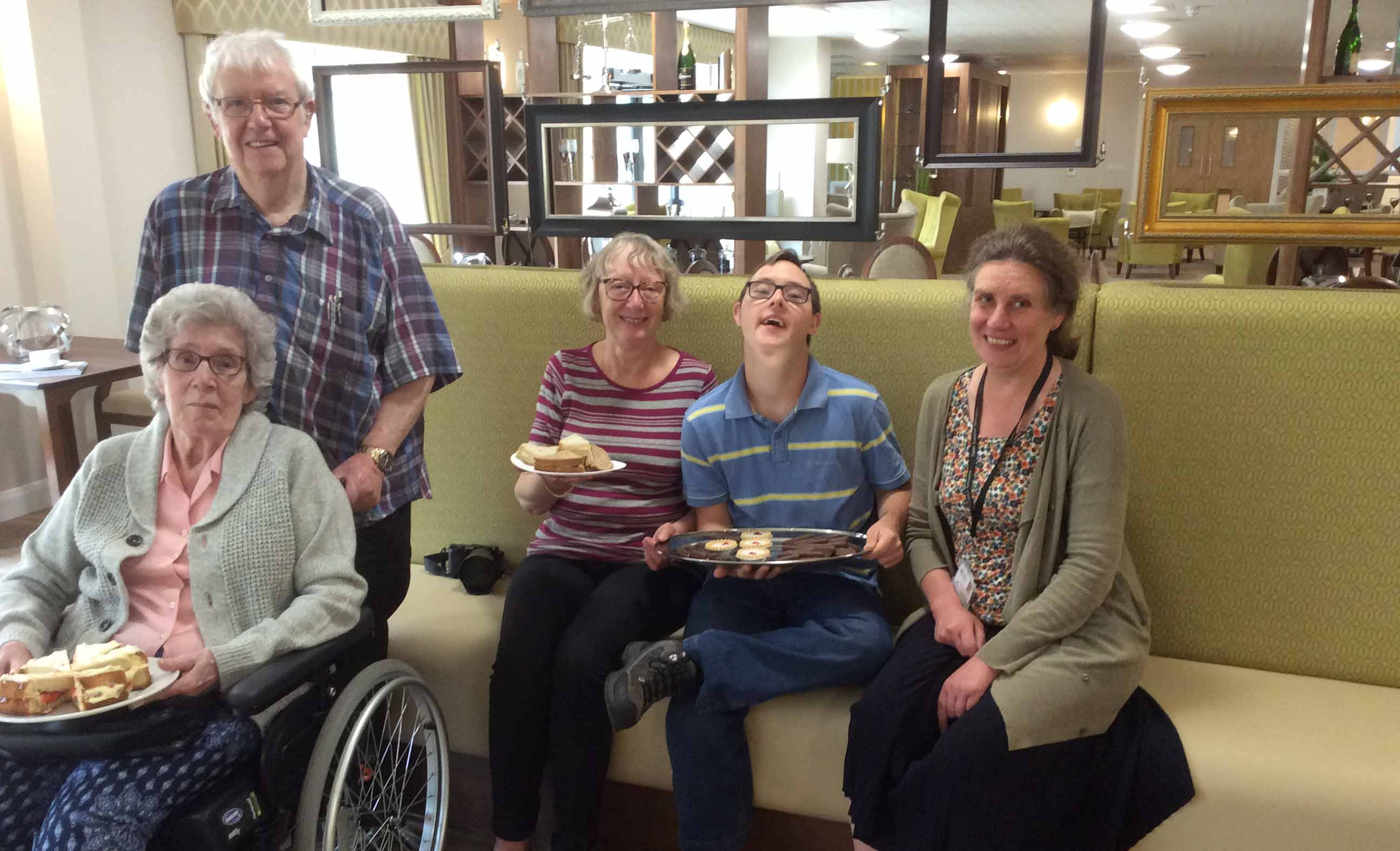 Afternoon tea for carers